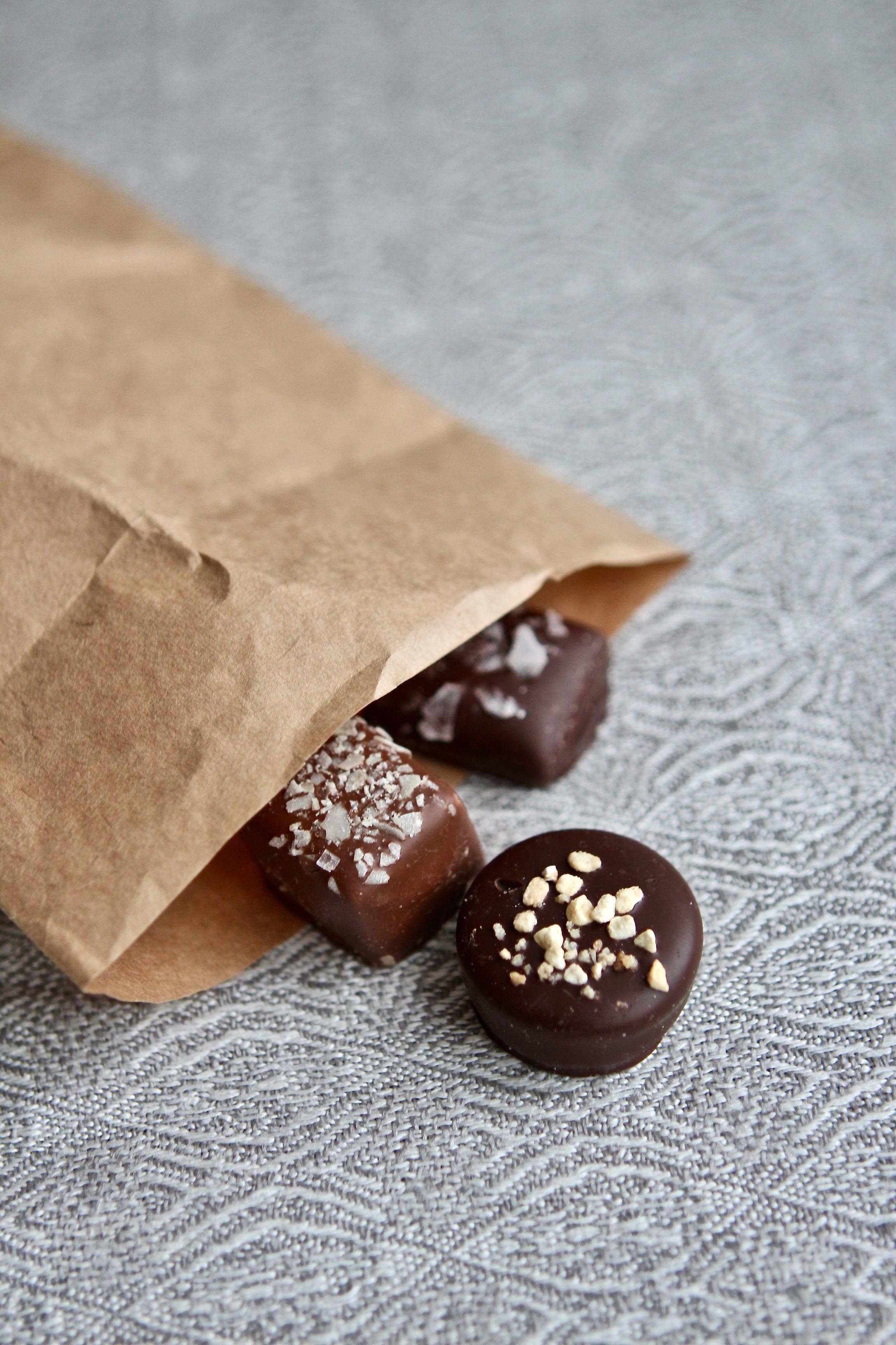 Fin liten choklad fläck!